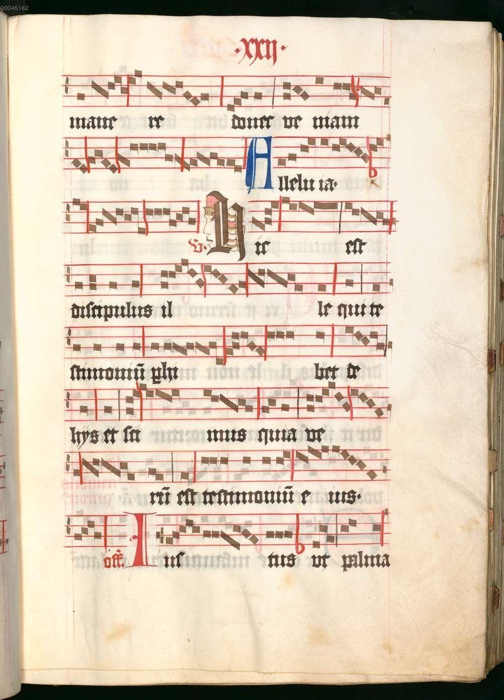 Missale, cum notis musicis et cum figuris literisque pictis Berthold Furtmeyr Clm 23032 [Regensburg], Ende 15. Jahrhundert Folio 22