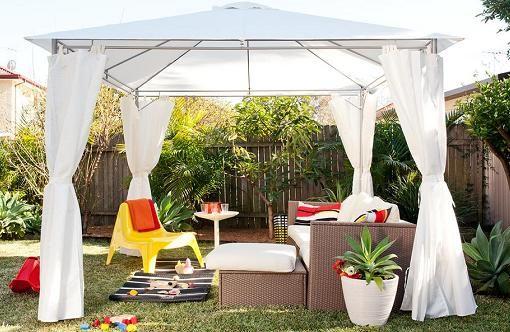 Ikea muebles jardin cenadores terrazas pinterest outdoor gardens outdo - Ikea pergolas jardin ...