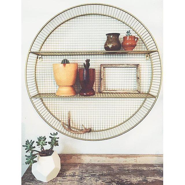 Metal Circle Shelf Gold Pillowfort Circle Shelf Trending Decor Shelves