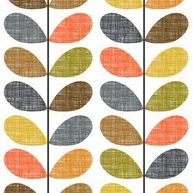 Scribble Stem Wallpaper Orla Kiely