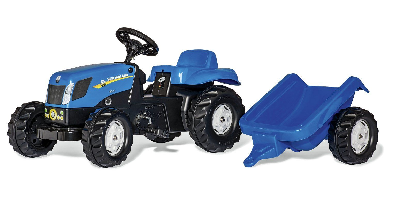 Buy rolly kid new holland t7040 tractor and trailer