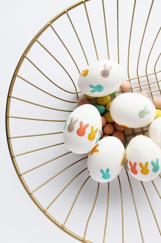 Kreative und lustige Ostereidekoration und Bastelideen #loisirscréatifs