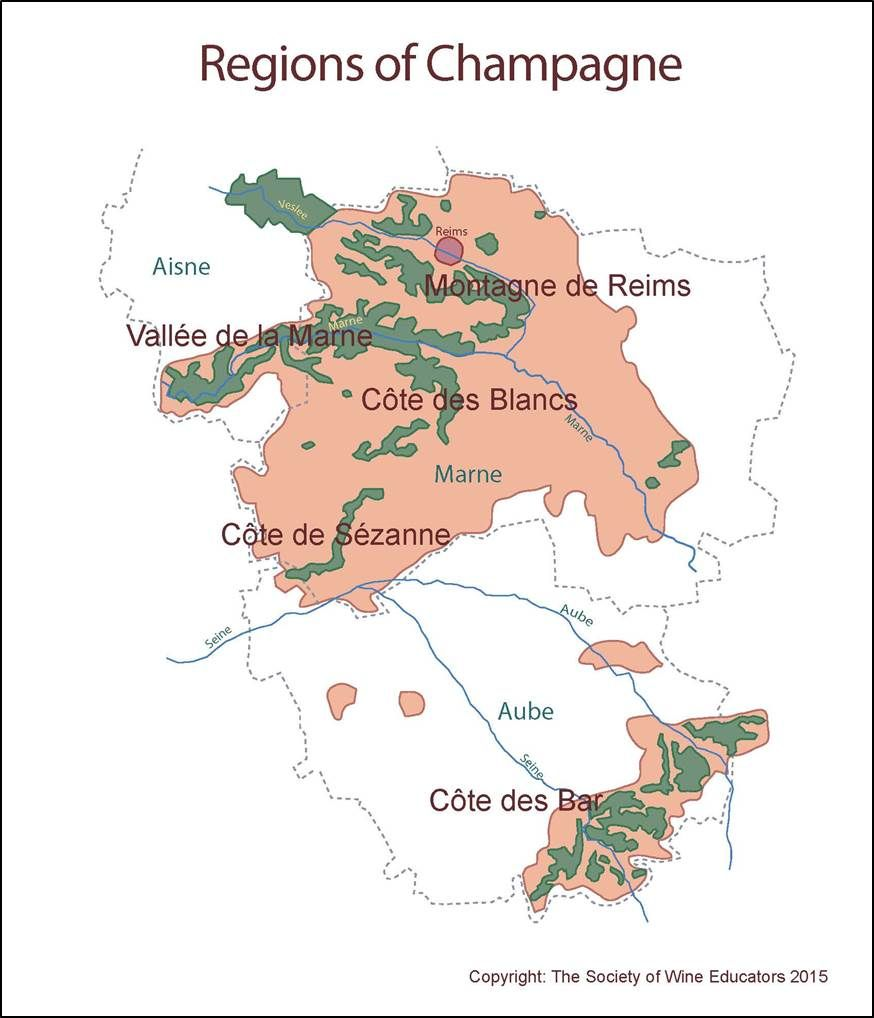 Champagne france champagne wine wineeducation All about Wine