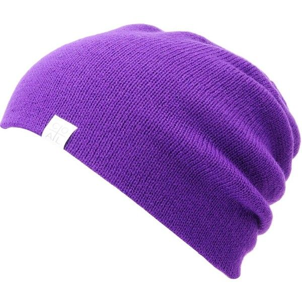 74b420ab2f2 Coal FLT Purple Beanie ( 18) ❤ liked on Polyvore featuring accessories