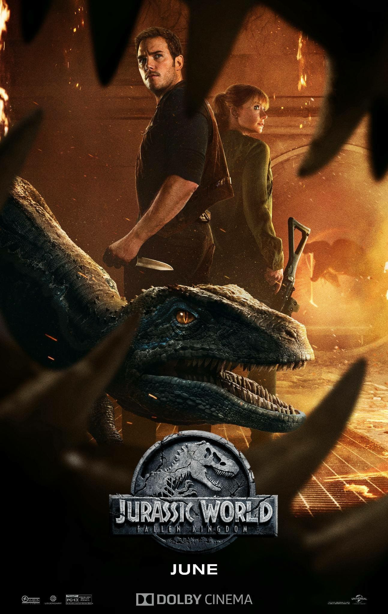Jurassic World Fallen Kingdom Poster With Images Jurassic