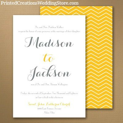 make a bold statement with this stellar impressions 2 sided wedding