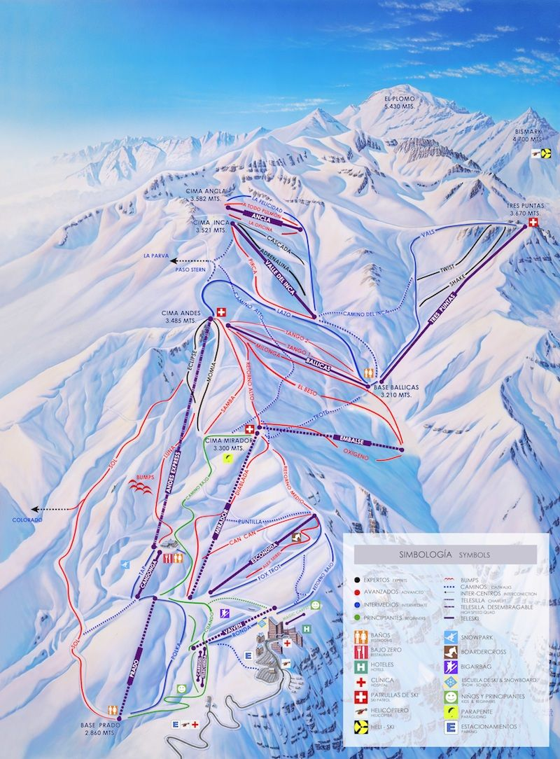 Valle Nevado Chile Ski Resort Places I Want To Go In