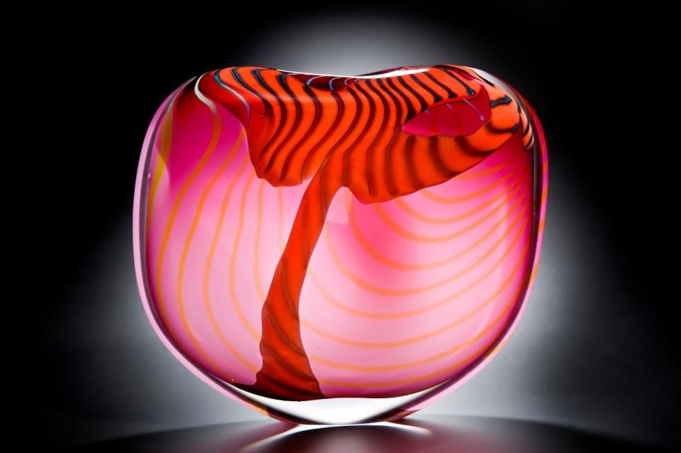 Blown glass peter layton glass art glass art sculpture