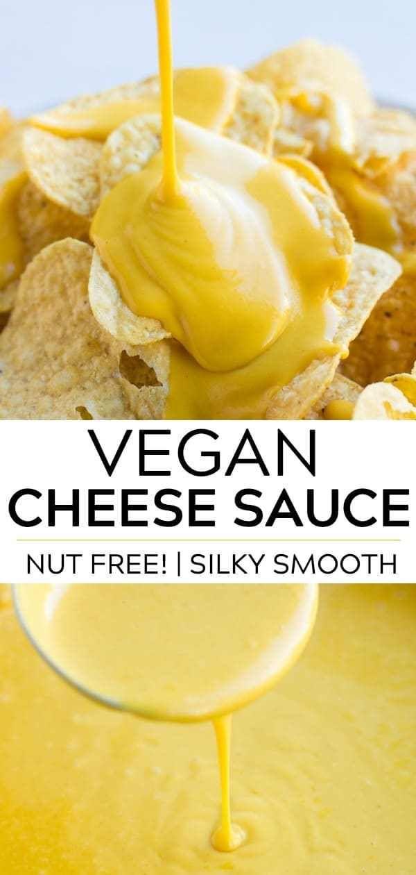 Vegan Cheese Sauce (Nut Free!)