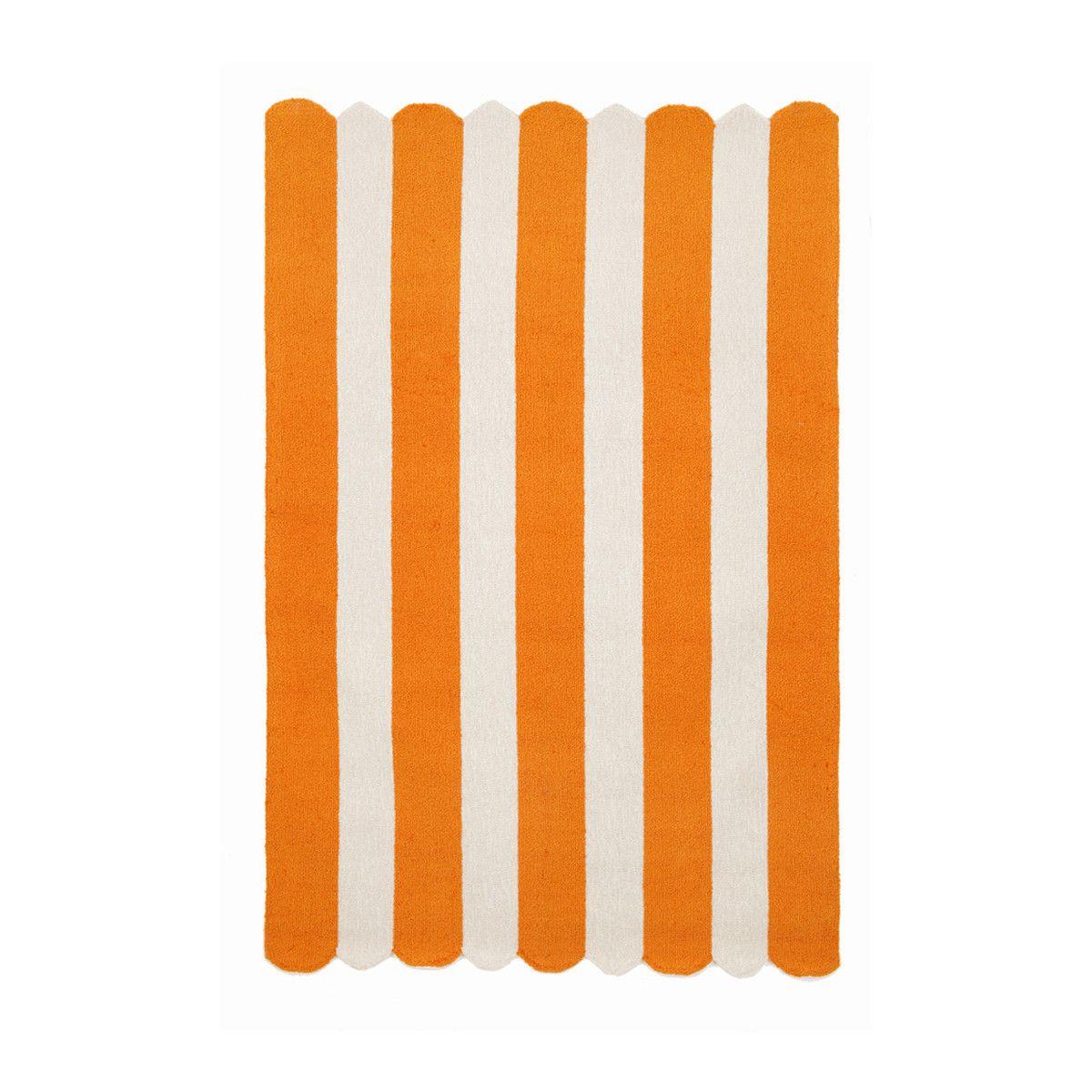 Fab.com | Bold Stripes 42x66 Orange