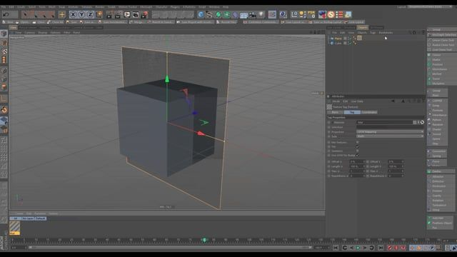 Here is a little trick inside of Cinema 4D to easily mask any object