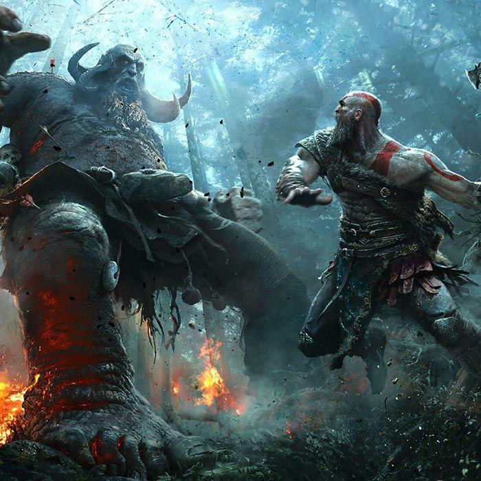 God Of War Fight Wallpaper Engine Kratos God Of War God Of War