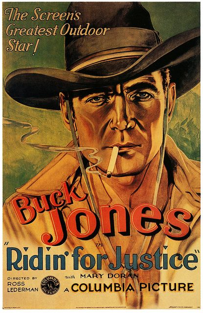Ridin For Justice Old Film Posters Classic Films Posters Old Movie Posters