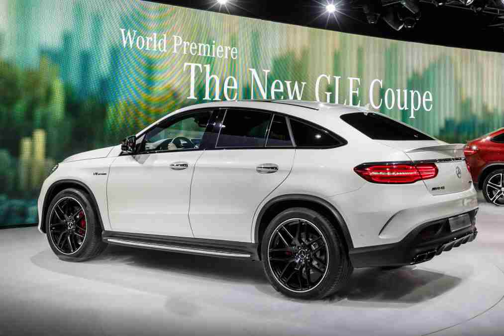 Finally On The U S Roads Mercedes Benz Gle 450 Coupe With
