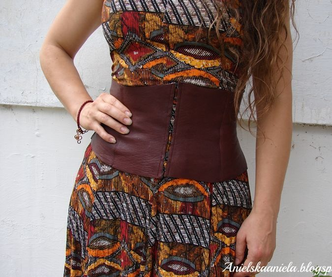 Class A Few Armor Projects With Images Leather Corset