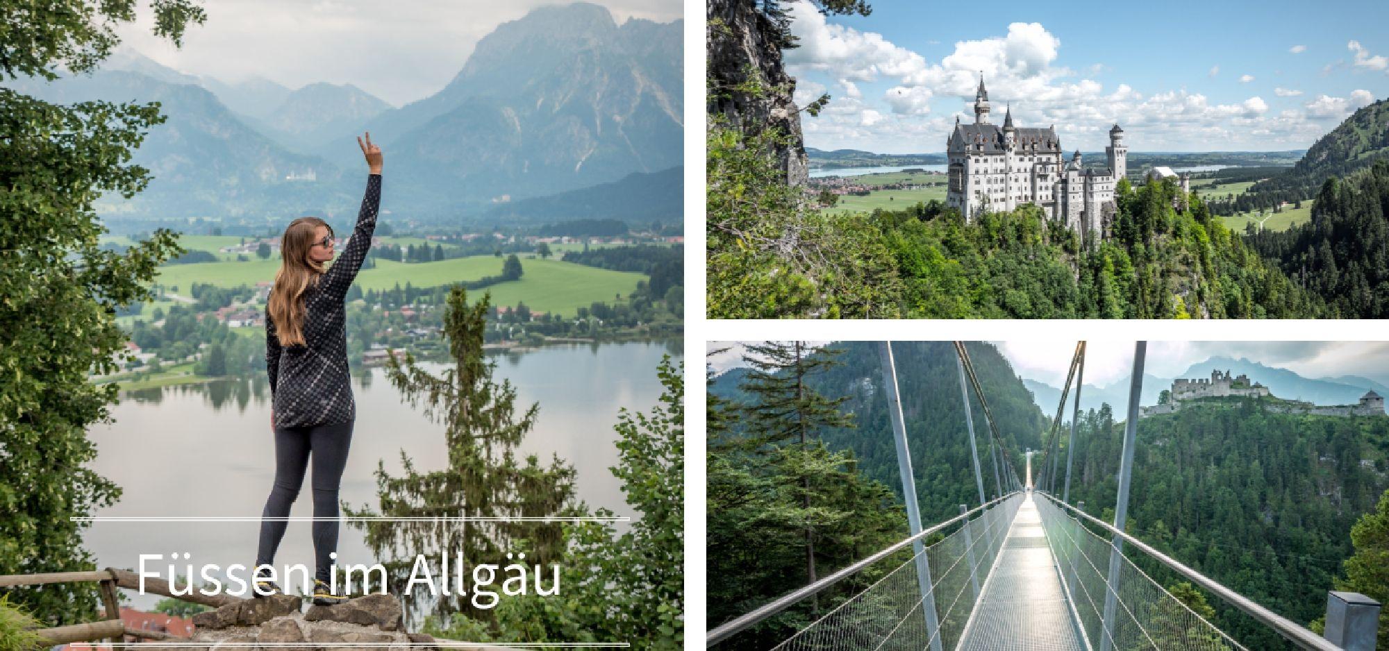 Fussen Im Allgau Neuschwanstein Mountainbiken Wandern Und Mehr Neuschwanstein Schloss Neuschwanstein Allgau Wandern