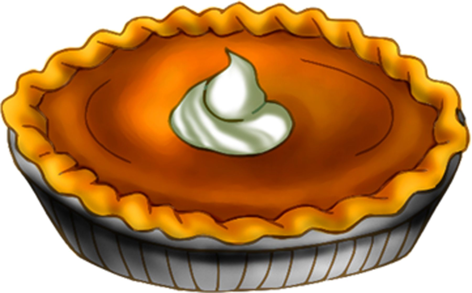 hight resolution of pumpkin pie clip art