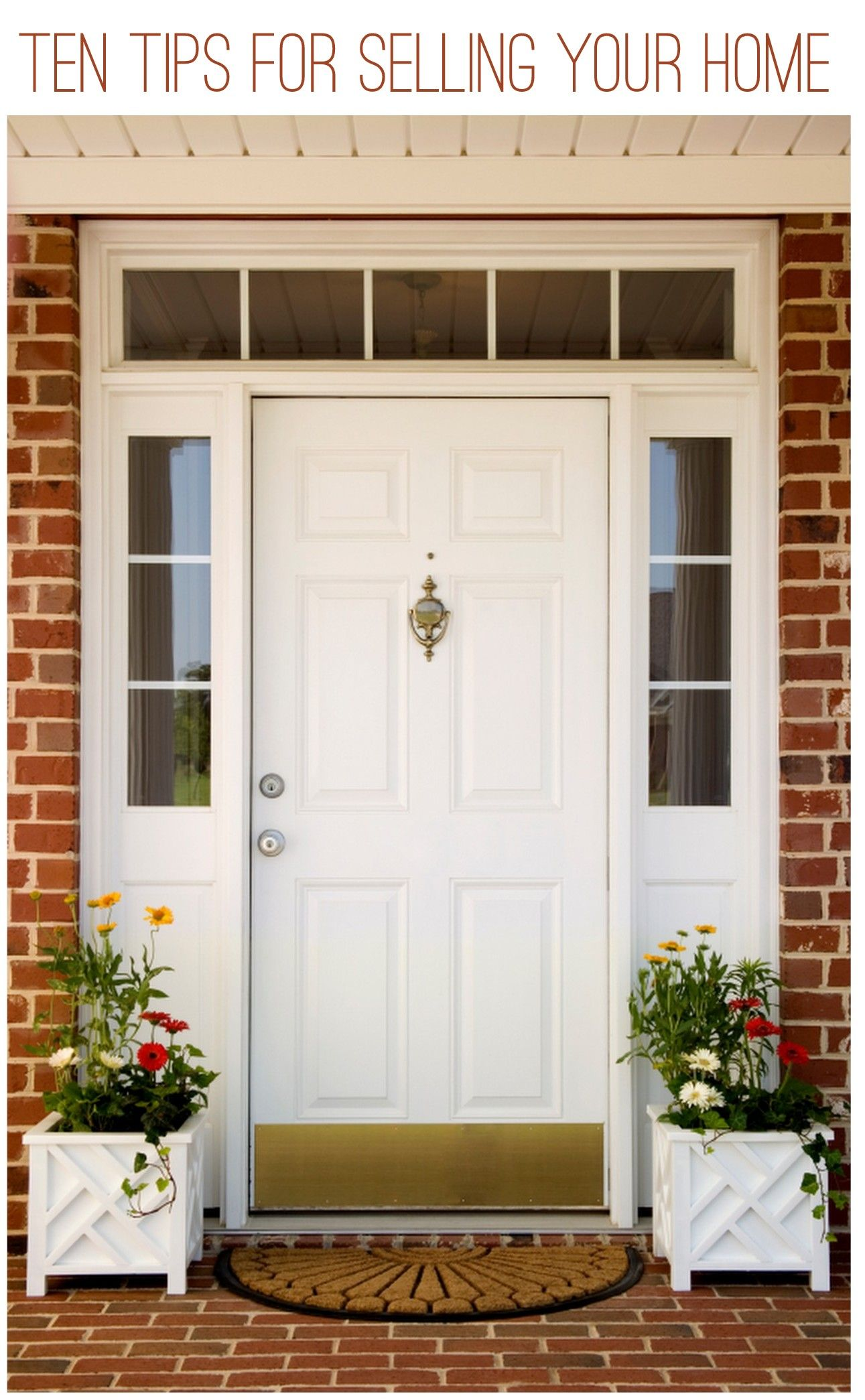 First Impressions Matter 2. Inspect the Exterior and Make Obvious Repairs 3. Get a Pest Inspection 4. Empty the Garage 5. Clear Out the Clutter 6. & Ten Tips for Selling Your Home | Clutter Empty and Real estate