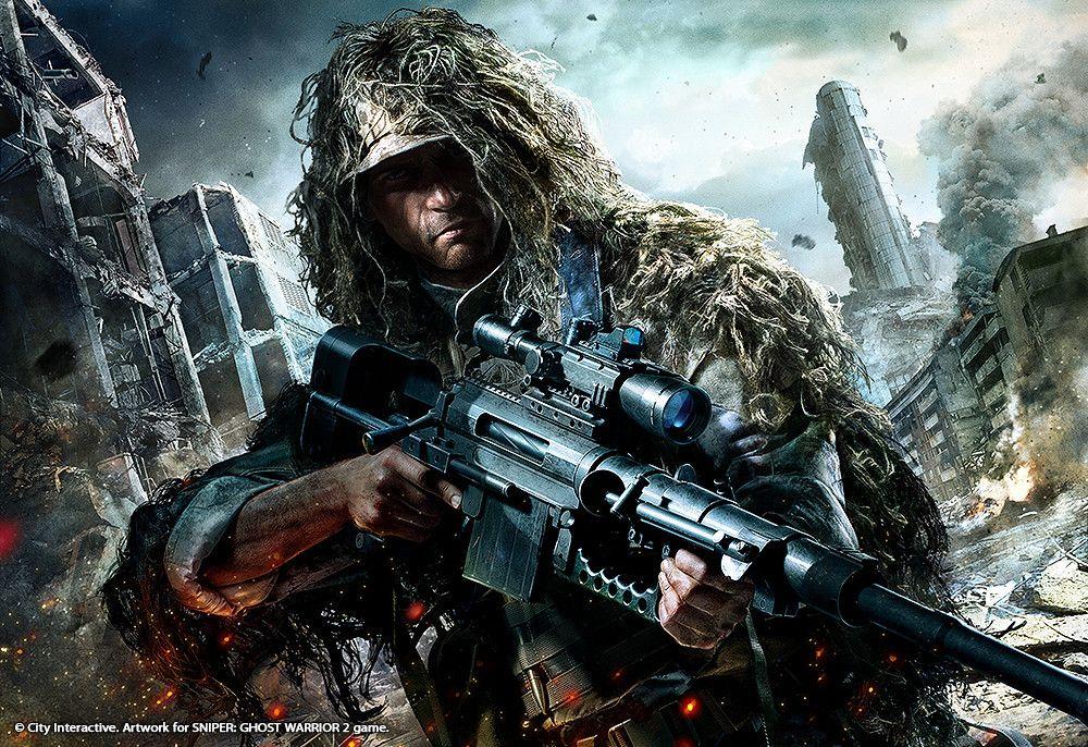 ArtStation Sniper Ghost Warrior 2 artworks, Gregory