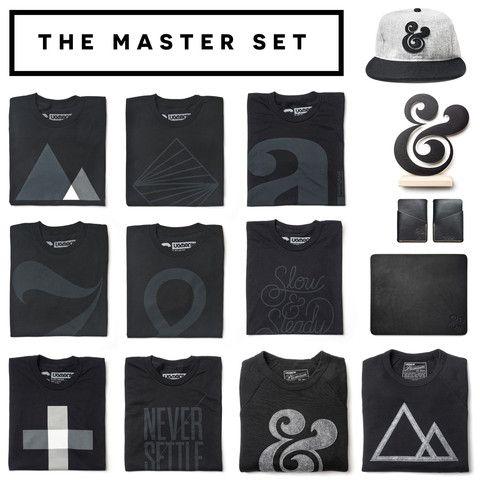 THE BLACK SERIES MASTER SET (14 ITEMS)
