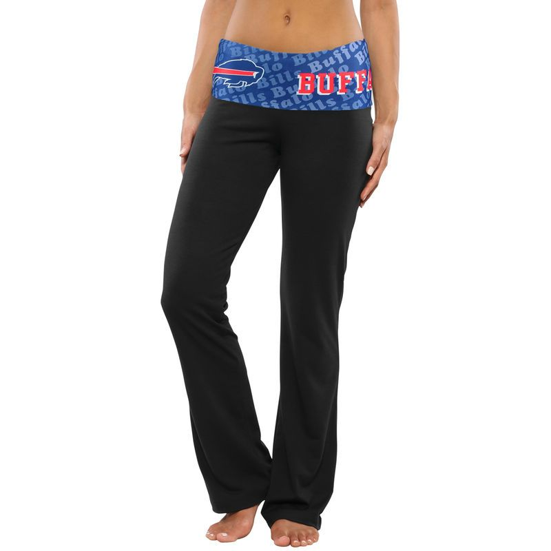 ac8842ad Buffalo Bills Women's Cameo Knit Pants - Black | Products | Knit ...