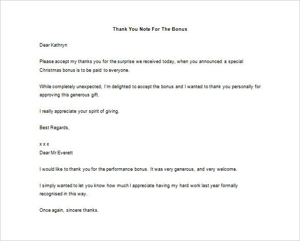 23 Thank You Letter To Boss Templates Free Sample Example