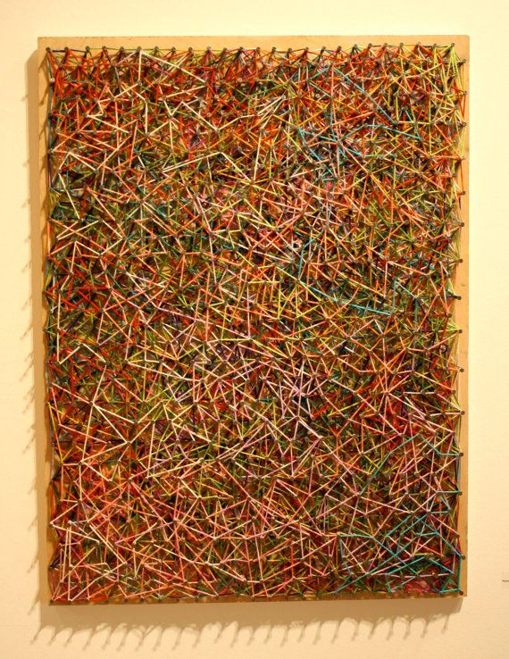 Mixed media abstract piece 32 x 24 by kaliarte on Etsy ...