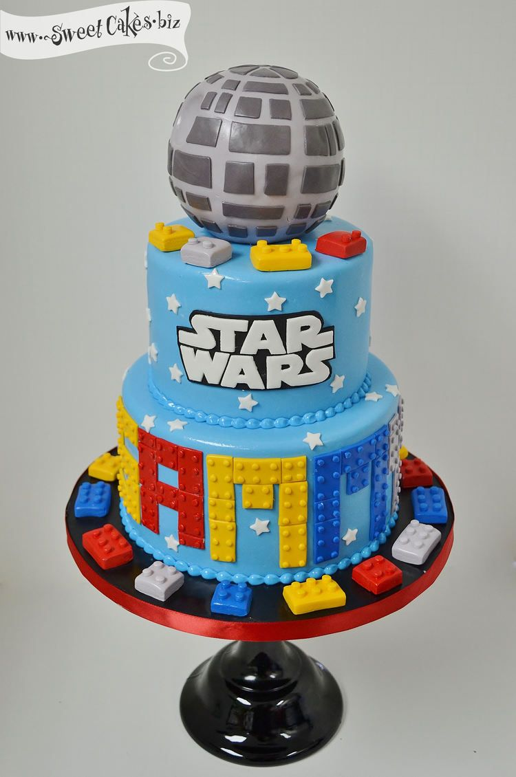 Lego Star Wars Birthday Cake Kids B Day Ideas Pinterest Star