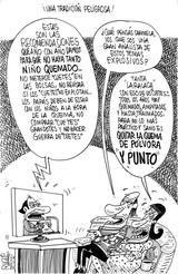 Caricatura Ruz, Una tradición peligrosa