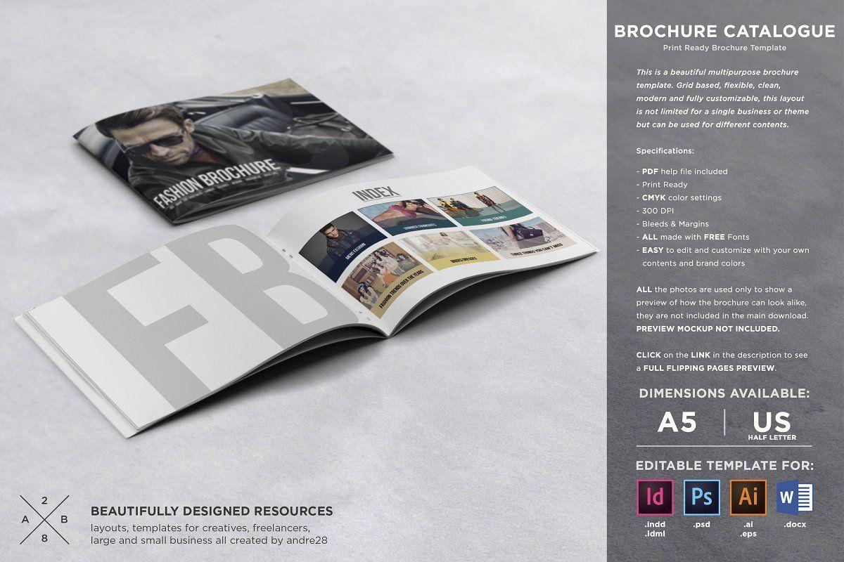 Brochure Catalogue Template Brochure Professional Graphic Design Brochure Template