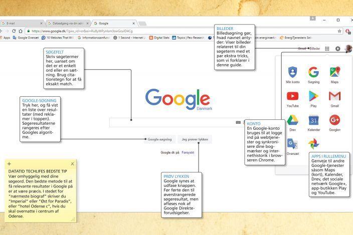 Guide Bedre Sogning Med Google Guide Ord Navn