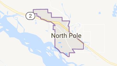 Map of North Pole Alaska   Christmas Etc...   North pole ...