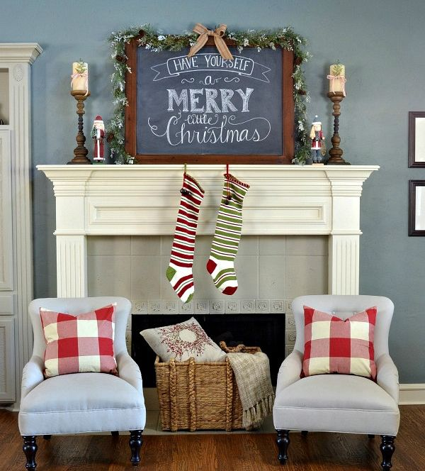 66 Sensational Rustic Christmas Decorating Ideas Holiday time