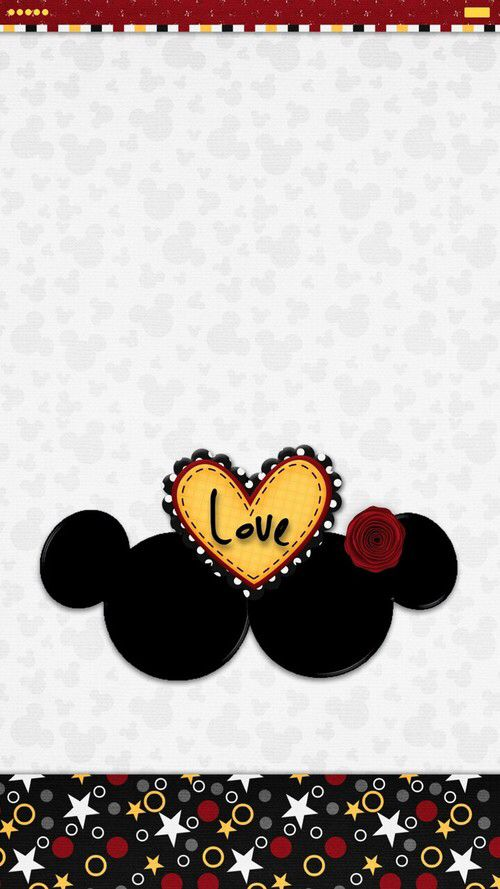 Http Weheartit Com Entry 273232885 Mickey Mouse Wallpaper Hello Kitty Iphone Wallpaper Mickey And Minnie Kissing