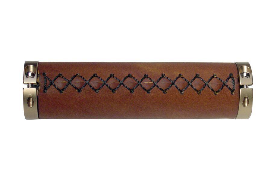 Velo Vinyl Leather Grips Brown for 7//8 inch handle bars of beach cruiser bikes