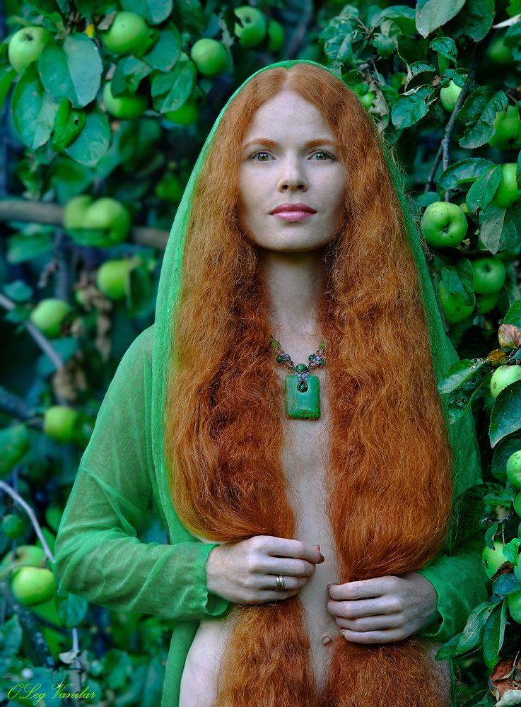 beauty Russian redhead