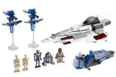 LEGO Star Wars Exclusive Special Edition Set #7868 Mace Windus Jedi Starfighter