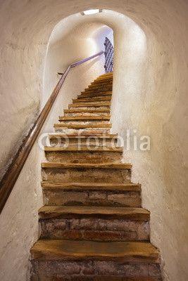 Treppen Verschönern stairs in castle kufstein austria fototapeten treppe fixar de