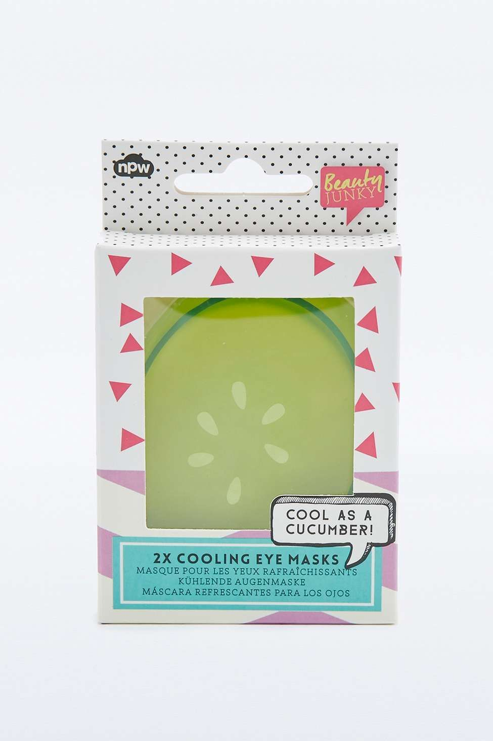 Npw Cooling Cucumber Gel Eye Pads Beautyhacksskincare In 2020