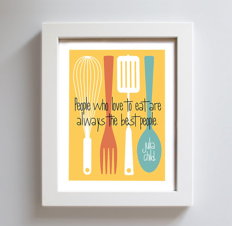 Alternative Julia Child print | wall art | Pinterest | Kitchen art ...