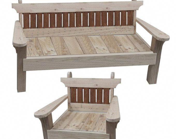garden chair and bench combo woodworking plans rh pinterest com