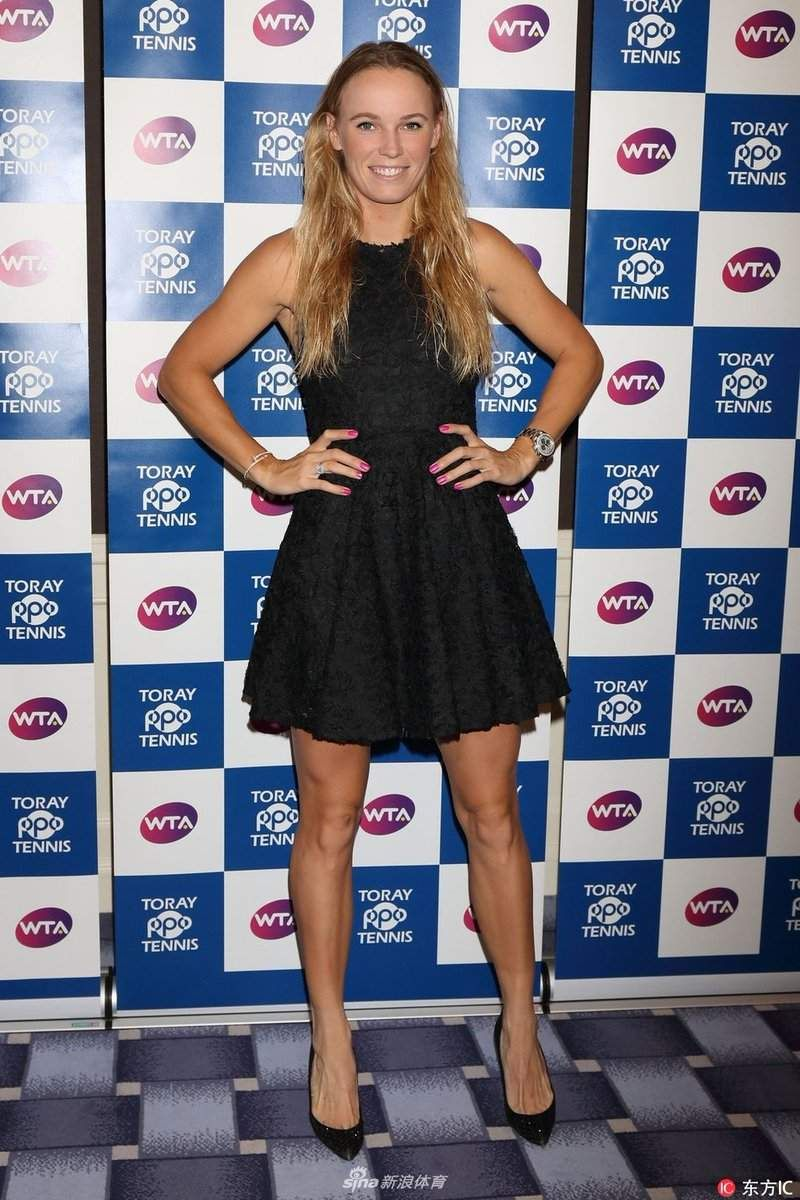Guys Only Best Legs And Other Best Female Issues Caroline Wozniacki Monica Puig Wta Tennis