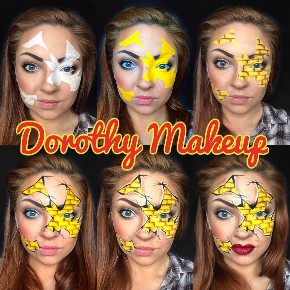 Step by Step Dorothy Wizard of Oz Makeup So gonna be my bout day ...