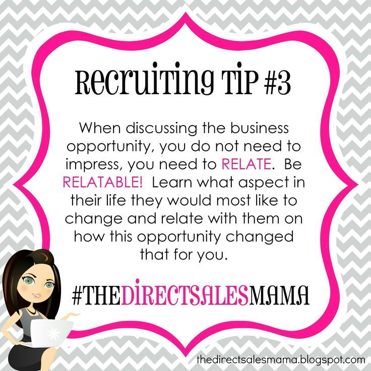 The Direct Sales Mama Direct Sales Recruiting Tip 3