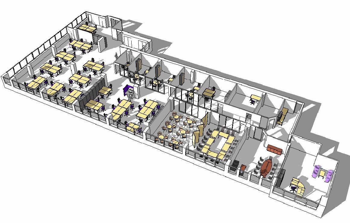 office design layouts. Open Office Layout 3d Design Layouts E