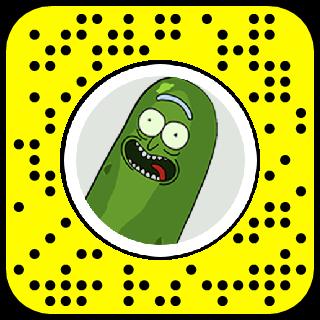 Pickle Rick Snapchat Lens Filter Rickandmorty Lens Filters Snapchat Snapchat Codes