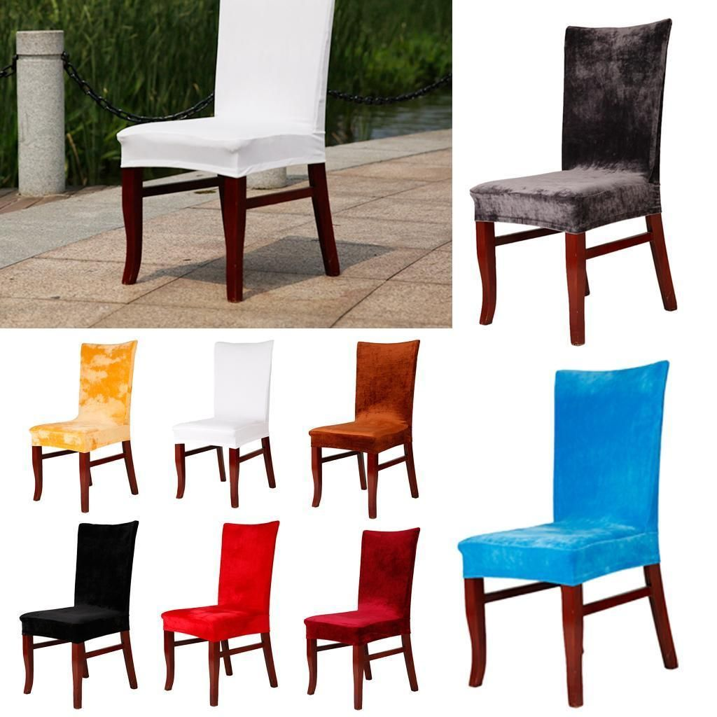 5 21 Aud Stretch Chair Cover Slipcover For Dining Room Hotel