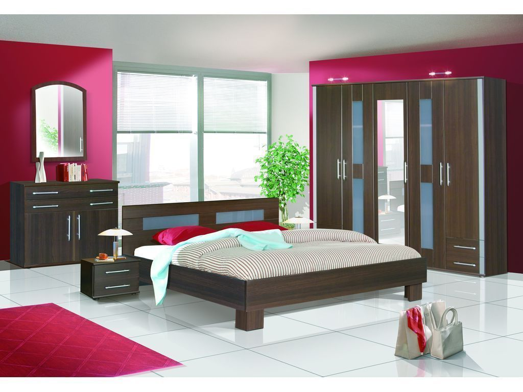 London Oak Cantori Black Glass Or Venge Opal Bedroom Set
