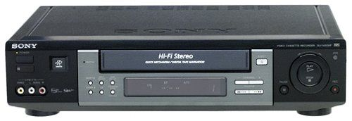 sony slv m20hf hi fi s vhs vcr vcrs pinterest. Black Bedroom Furniture Sets. Home Design Ideas