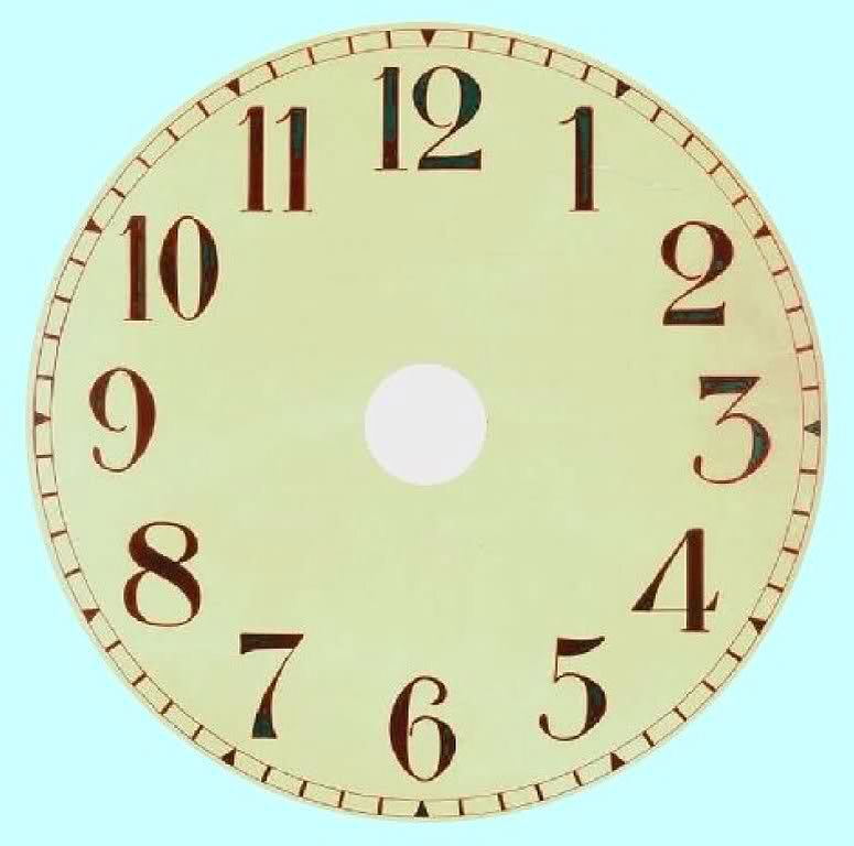 Reloj Sin Manecillas Imprimibles Miniaturas Pinterest Clock